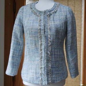 Cynthia Rowley Tweed Blazer small